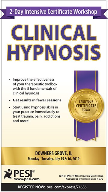 2-Day Intensive Certificate Workshop: Clinical Hypnosis