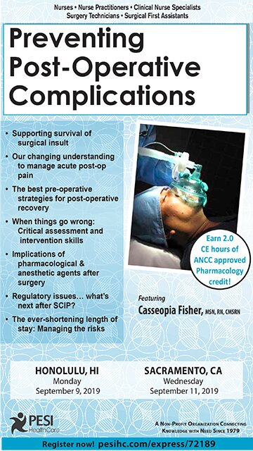 Preventing Post-Operative Complications