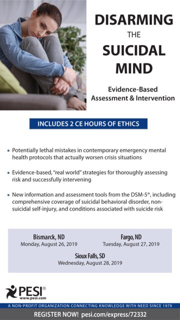 Disarming the Suicidal Mind: Evidence-Based Assessment and Intervention