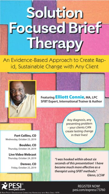 Solution Focused Brief Therapy: An Evidence-Based Approach to Create Rapid, Sustainable Change with Any Client