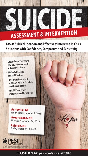 Suicide Assessment & Intervention: Assess Suicidal Ideation and Effectively Intervene in Crisis Situations with Confidence, Composure and Sensitivity