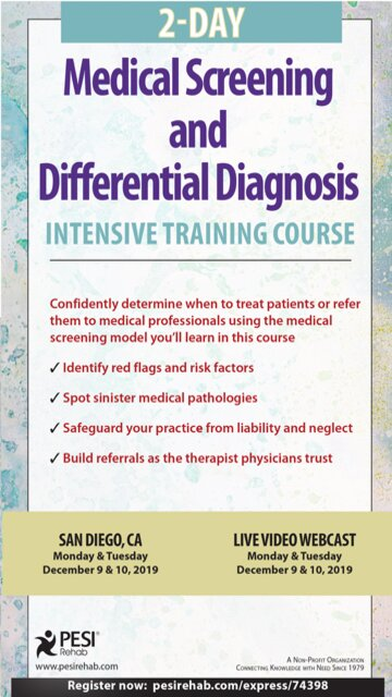 2-Day: Medical Screening and Differential Diagnosis Intensive Training Course