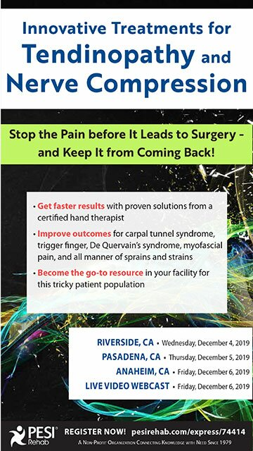 Innovative Treatments for Tendinopathy and Nerve Compression: Stop the Pain Before It Leads to Surgery -- and Keep It from Coming Back!