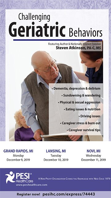 Challenging Geriatric Behaviors