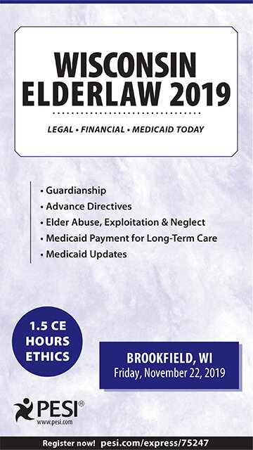 Wisconsin Elder Law - 2019