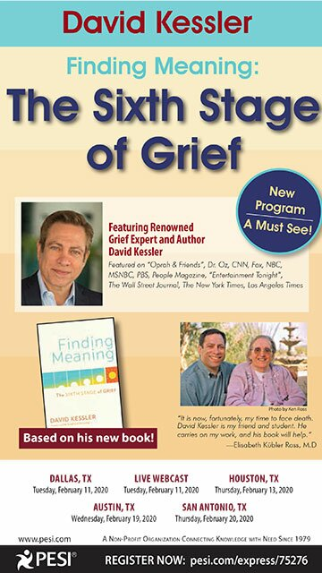 David Kessler: Finding Meaning: The Sixth Stage of Grief