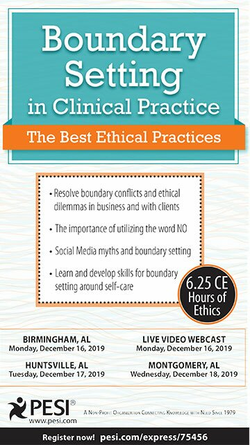 Boundary Setting in Clinical Practice: The Best Ethical Practices