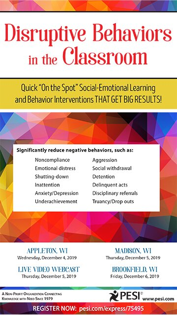 "Disruptive Behaviors in the Classroom: Quick ""On the Spot"" Social-Emotional Learning and Behavior Interventions That Get Big Results!"