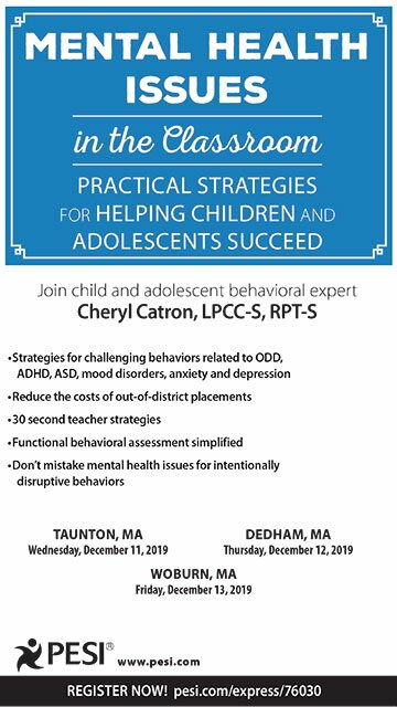 Mental Health Issues in the Classroom: Practical Strategies for Helping Children and Adolescents Succeed