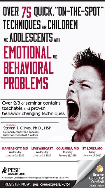 "Over 75 Quick ""On-The-Spot"" Techniques for Children and Adolescents with Emotional and Behavior Problems"