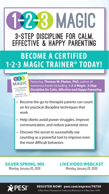 1-2-3 Magic: 3-Step Discipline for Calm, Effective & Happy Parenting