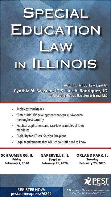 Special Education Law in Illinois