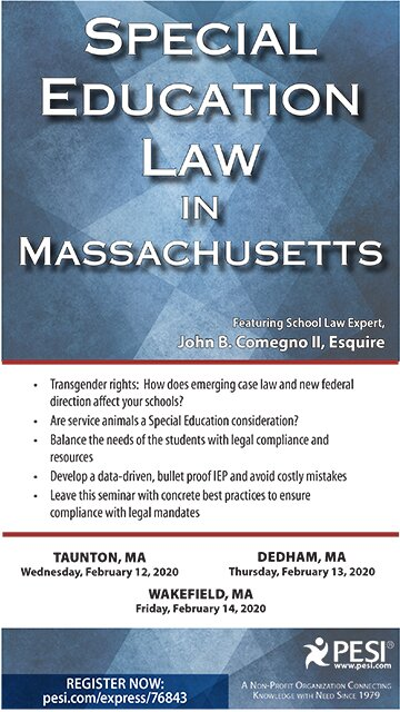 Special Education Law in Massachusetts