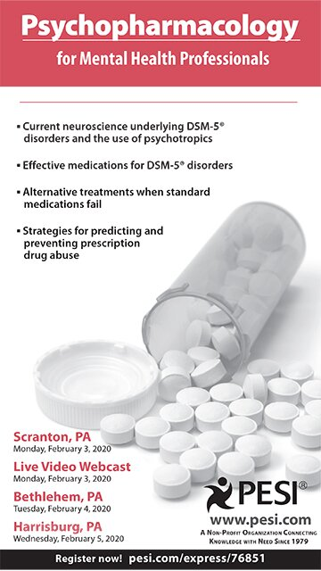 Psychopharmacology for Mental Health Professionals