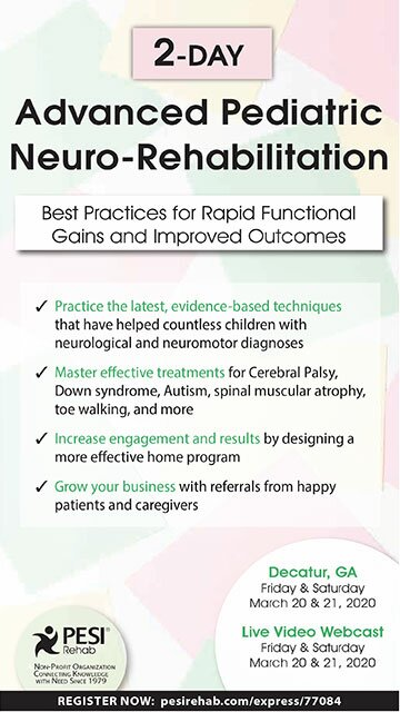 2-Day Advanced Pediatric Neuro-Rehabilitation: Best Practices for Rapid Functional Gains and Improved Outcomes