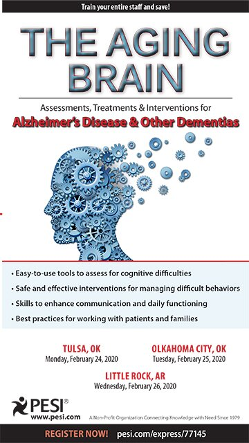 The Aging Brain: Assessments, Treatments & Interventions for Alzheimer's Disease & Other Dementias