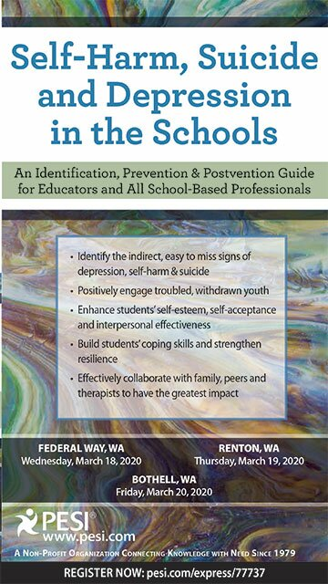 Self-Harm, Suicide and Depression in Schools: An Identification, Prevention & Postvention Guide for Educators and All School Based Professionals