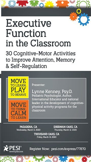 Executive Function in the Classroom: 30 Cognitive-Motor Activities to Improve Attention, Memory & Self Regulation