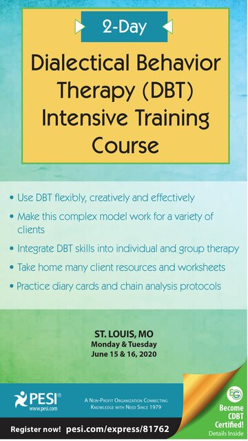 2-Day Dialectical Behavior Therapy (DBT) Intensive Training Course