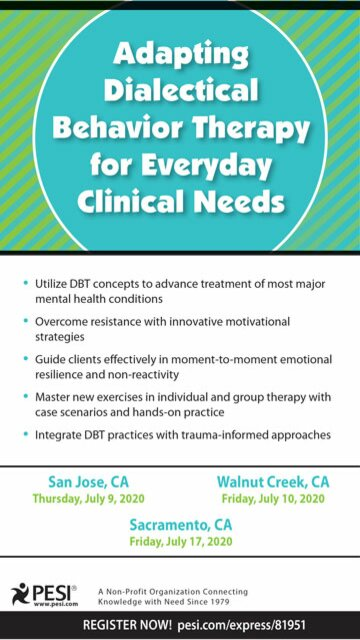 Adapting Dialectical Behavior Therapy for Everyday Clinical Needs