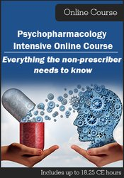 Image of 2018 Psychopharmacology Intensive Online Course: Everything the Non-Pr