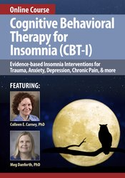 Certificate Course in Cognitive Behavioral Therapy for Insomnia (CBT-I)