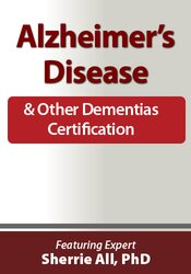 Alzheimer's Disease and Other Dementia Certification