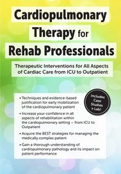 Image of Cardiopulmonary Therapy for the Rehab Professional: Therapeutic Interv