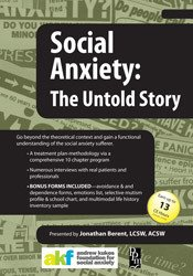 Social Anxiety: The Untold Story