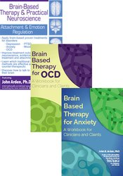 Brain Based Therapy for Anxiety & OCD: 2-Book + DVD Bundle