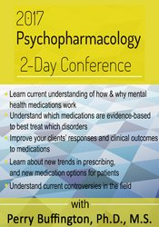 2017 Psychopharmacology 2-Day Conference