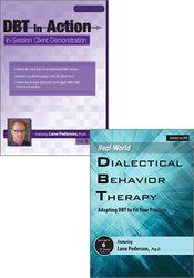 DBT in Action: In-Session Client Demonstration + Real-World DBT: Adapting DBT to Fit Your Practice DVD Bundle