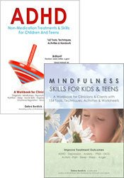 ADHD & Mindfulness for Children and Adolescents 2 Book Bundle
