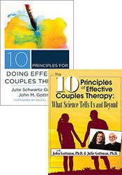 10 Principles of Effective Couples Therapy with the Gottmans (Seminar Recording + Book)