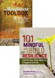 101 Mindful Moments and The Mindfulness Toolbox Kit
