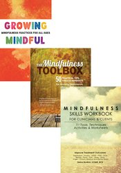 Best-Selling Mindfulness Workbooks + Growing Mindful Card Deck