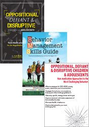 Oppositional, Defiant & Disruptive Children and Adolescents (DVD + Book) + Behavior Management Skills Guide Book