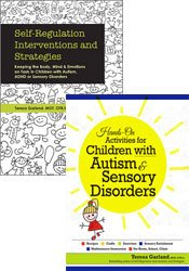 Self-Regulation Interventions & Hands-On Activities for Children with Autism and Sensory Disorders Book Bundle