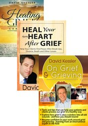 Healing Grief Card Deck + Heal Your Heart After Grief and On Grief and Grieving DVD