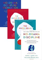 Whole-Brain Child & No-Drama Discipline Book & Workbook Package
