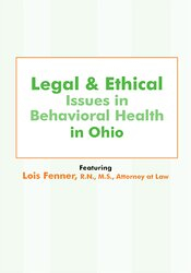 Legal and Ethical Issues in Behavioral Health in Ohio