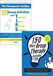 150 More Group Therapy Activities & TIPS + 103 Group Activities and TIPS