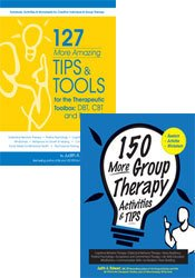 150 More Group Therapy Activities & TIPS + 127 More Amazing Tips and Tools for the Therapeutic Toolbox