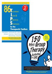 150 More Group Therapy Activities & TIPS + 86 TIPS for the Therapeutic Toolbox