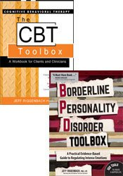Borderline Personality Disorder Toolbox + The Cognitive Behavior Therapy (CBT) Toolbox