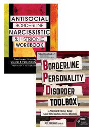 Borderline Personality Disorder Toolbox + Antisocial, Borderline, Narcissistic and Histrionic Workbook