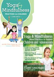 Yoga and Mindfulness Practices for Children Card Deck + Yoga & Mindfulness Based Practices DVD Recording