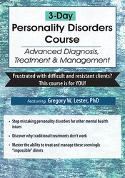 3-Day Personality Disorders Certificate Course: