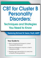 CBT for Cluster B Personality Disorders: