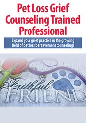 Pet Loss Grief Counseling Trained Professional